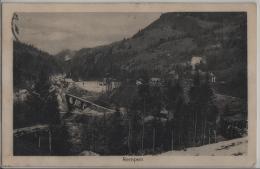 Rempen - Kraftwerk Wäggital - Hotel Bären - Photo-Centrale - SZ Schwyz