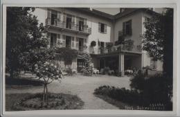Ascona - Pension Schweizerhof - Photo: Pancaldi - TI Tessin