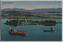 Ufenau Im Zürichsee - Ruderboote Animee - Photo: Carl Künzli No. 5400 - SZ Schwyz