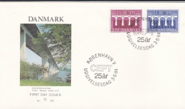 Denmark 1984 FDC Europa CEPT (T17-1) - Europa-CEPT