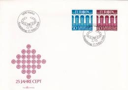 Liechtenstein 1984 FDC Europa CEPT (T17-1) - Europa-CEPT