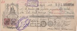 CAMBIALE DA LIRE 10 DEL 1922  BANCA REGIONALE TARQUINIA - Cambiali
