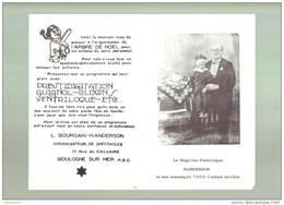 Programme De Magie   Ventriloque   Handerson     Boulogne Sur Mer Magic Magical  Magicien - Pubblicitari