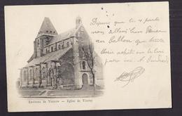 CPA TOURNY - Environs De VERNON - Eglise De Tourny - TB PLAN EDIFICE RELIGIEUX - Altri Comuni