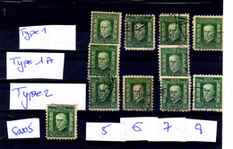 1926 Masaryk 0.50 H  Mi 238  Pofis 204  Complet ( 11 P )
