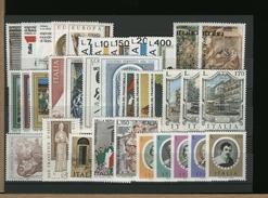 ITALIA - ANNATA COMPLETA NUOVO MNH 1976 - Annate Complete