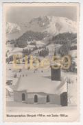 Bad Hindelang (Bayern) Wintersportplatz Oberjoch (1150 M.) Mit Iseler (1880 M.), Gelaufen 1941 - Germania
