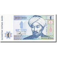 Kazakhstan, 1 Tenge, 1993-1998, 1993, KM:7a, NEUF - Kazakhstan