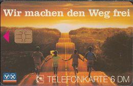 GERMANY O347/96 Wir Machen Den Weg Frei ( Ohne Zudruck) Raiffeisen Banken