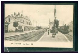 Sannois - ND 54 - La Gare Locomotive à Vapeur Train - Sannois