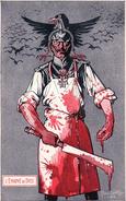 Illustrateur Pierre Chatillon, Guerre 14-18, L'Envoyé De Dieu, Carte Satirique (1636) - Weltkrieg 1914-18