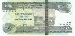 Ethiopia - Pick 52 - 100 Birr 2004-2012 - Unc - Etiopia