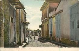 A-17.5623 :  CUBA. STREET IN SANCTI SPIRITUS - Cuba