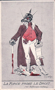 Illustrateur Pierre Chatillon, La Haye, La Force Prime Le Droit (1635) - Evènements