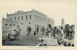 Pays Div-ref H985- Djibouti - Le Marché Aux Bestiaux - Carte Bon Etat  - - Djibouti