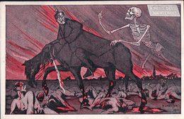 Illustrateur Pierre Chatillon, A Nous Deux Maintenant, Carte Satirique (1628) - Weltkrieg 1914-18