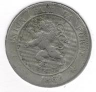 LEOPOLD I * 5 Centiem 1862 * Z.Fraai * Nr 6205 - 1831-1865: Léopold I