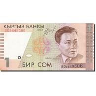 KYRGYZSTAN, 1 Som, 2000, KM:15, 1999, SUP - Kirghizistan