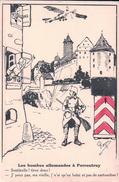 Illustrateur Roger, Les Bombes Allemandes à Porrentruy (1631) Trou D'épingle - Weltkrieg 1914-18