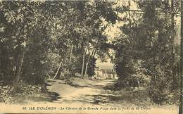 - Charente Maritime -ref-G375- Ile D Oleron - Saint Trojan - St Trojan - Chemin De La Grande Plage -petit Plan Maisons - Ile D'Oléron