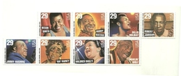 1994 - Stati Uniti 2272/79 Cantanti Di Blues E Di Jazz