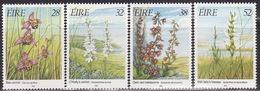 IRELAND  1993 ORCHIDS Mi 821-824  MNH**