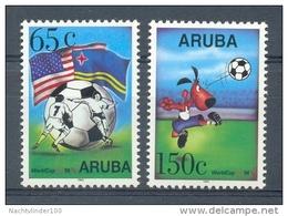 Nbr0142 SPORT VOETBAL SOCCER FOOTBALL FUSSBAL ARUBA 1994 PF/MNH - Sin Clasificación