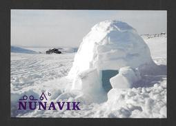 NUNAVIK - QUAQTAQ - QUÉBEC - 025 - ESQUIMAUX - INDIENS - 17¼ X 12cm - 6¾ X 5¾ - PHOTO PAUL GRACIA - Nunavut