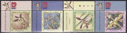 Namibia 1999 Orchids Set Of 4, Mi 995-998 MNH**