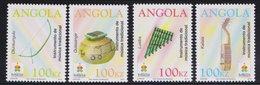 Angola : Musical Instruments 4v MNH 2014