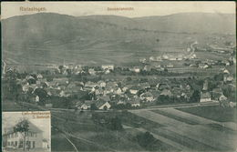 AK Rielasingen-Worblingen, Gesamtansicht Mit Cafe-Restaurant J. Schrott, O Um 1913, Eckknick Oben Links (19982) - Autres