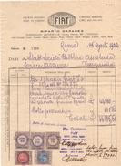 FIAT FATTURA 7756 DEL 26 AGOSTO 1922 - Italia