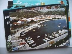 Kroatië Croatia Makarska Harbour With Boats - Kroatië