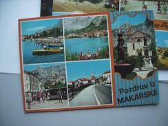 Kroatië Croatia Pozdrav Iz Makarske - Kroatië