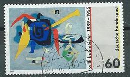 BRD  1989  Mi 1403  100. Geburtstag Von Willi Baumeister