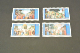 K11193- Set MNH  Vatican City - 2000- SC.1156-1159- Paintings, 2000 Of 15Th Century, Sistine Chapel - Ongebruikt