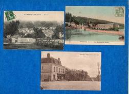 78- YVELINES- Lot* De 21 Cartes.(Breval,Bougival,Croissy,Houilles,Poissy,Rambouillet, Saint-Cyr,Vaux,Sonchamp,...,) CPA - Zonder Classificatie