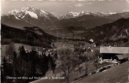 AUT-29 - CPSM Allemagne OBERAU Mit Blick Auf Hochkalter U. Reiteralpe - Berchtesgaden
