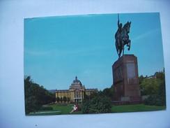 Kroatië Croatia Zagreb Zagreba Statue King Tomislav - Kroatië