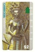 Cambogia - Tessera Telefonica Da 2 Dollars T285, - Cambodia