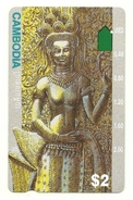 Cambogia - Tessera Telefonica Da 2 Dollars T285, - Kambodscha