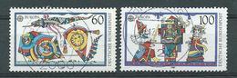 BRD  1989  Mi 1417 - 1418 Europa: Kinderspiele