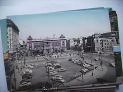 Servië Serbia Beograd Trg Republike And Cars Auto - Servië