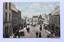 Abercorn Square, Strabane, County Tyrone, Northern Ireland Postcard By Valentine, Dublin - Tyrone