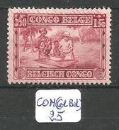 CON(COL.BEL.) COB 156 X - Belgisch-Kongo