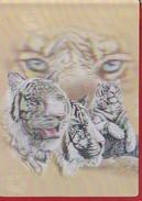 TIGER POSTCARD 3D UNUSED 17cm X 15cm
