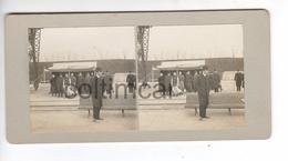 (n829) Photo Stéréo  71 LE CREUSOT Visite SAJ MGR Le Prince Impérial TASAI Chine Mission Chinoise 1906 Usines SCHNEIDER - Photos Stéréoscopiques