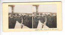 (n830) Photo Stéréo  71 LE CREUSOT Visite SAJ MGR Le Prince Impérial TASAI Chine Mission Chinoise 1906 Usines SCHNEIDER - Photos Stéréoscopiques