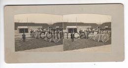 (n831) Photo Stéréo  71 LE CREUSOT Visite SAJ MGR Le Prince Impérial TASAI Chine Mission Chinoise 1906 Usines SCHNEIDER - Photos Stéréoscopiques