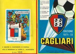 ALBUM FIGURINE COMPLETO CALCIO CAGLIARI CAMPIONE D'ITALIA 1971 GIGI RIVA - Trading Cards
